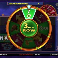 Zeus God of Thunder casino slot game