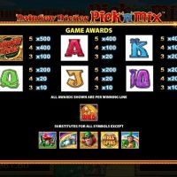 Rainbow Riches pick n mix game review