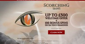 Scorching Slots offers