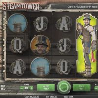 Steam Tower - Stacked Wilds
