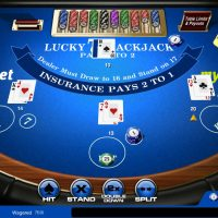 Lucky 7 Blackjack Betting