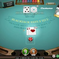Single Deck Blackjack Deal