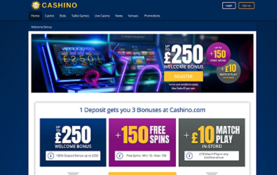Cashino review