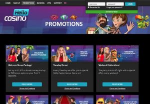 Hello Casino Promotions