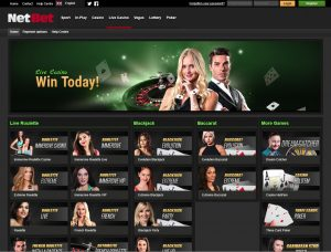 Netbet casino live dealer