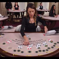 Live Blackjack Deal