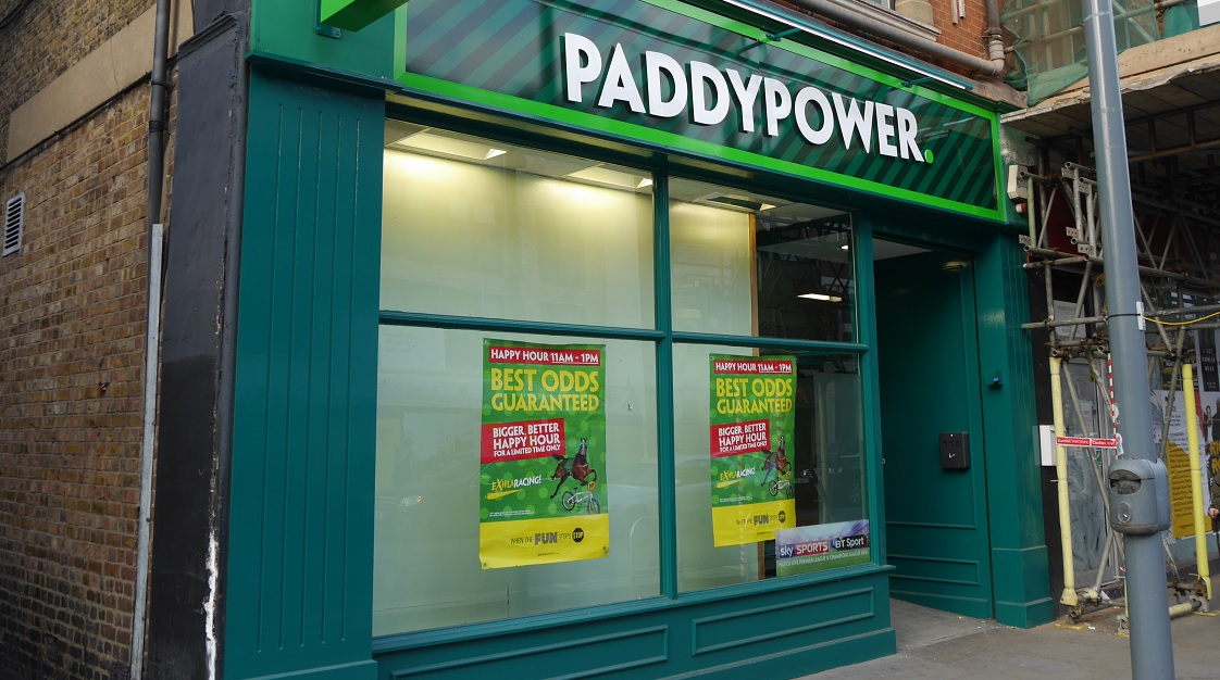 Paddy Power gambling commission