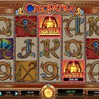 Cleopatra casino slot game