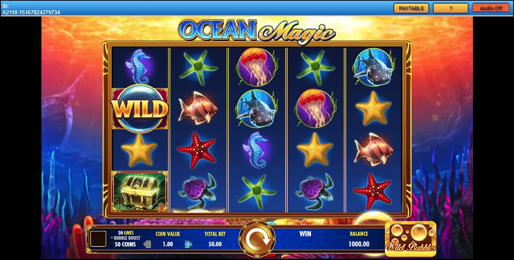 Ocean Magic Slot Game