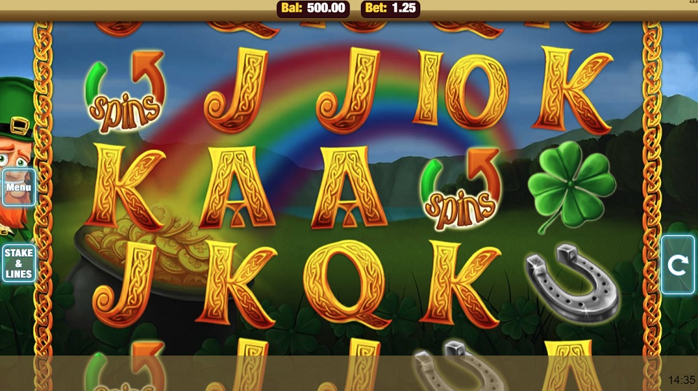 Shamrock N Roll Slot Casino Game