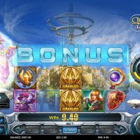 Cloud Quest slot bonus round