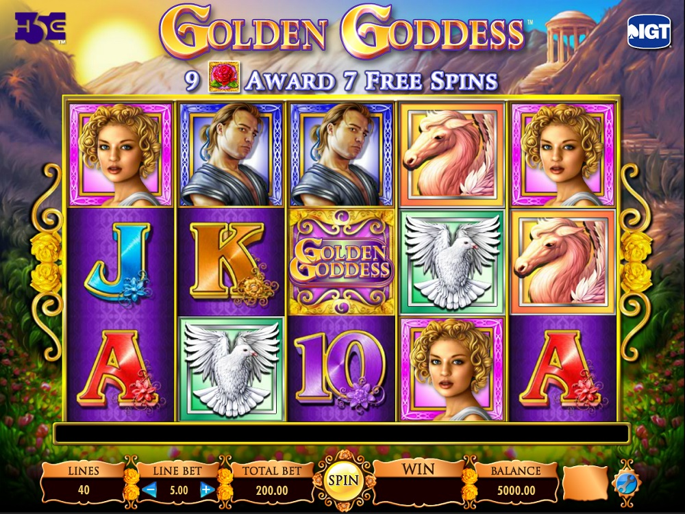Golden Goddess game review