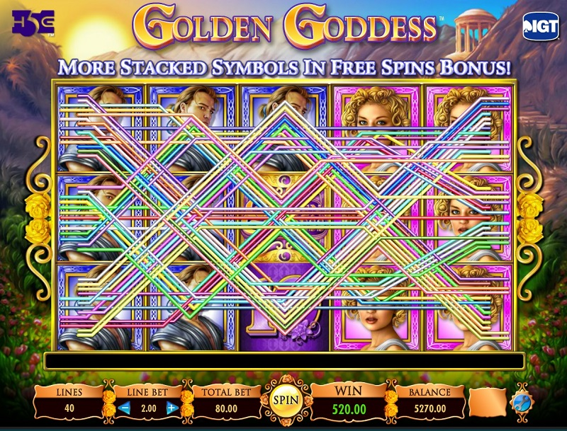 Golden Goddess Slot Game Review - Casino Circle
