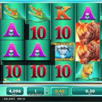Raging rhino slot game