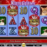 kitty glitter game review