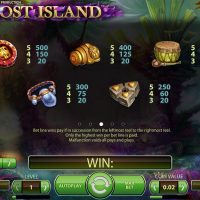 Lost Island slot game