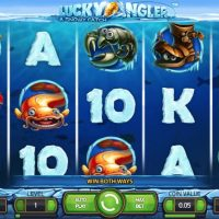 Lucky Angler slot game review