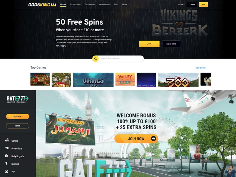 Gate 777 Odds King casino review