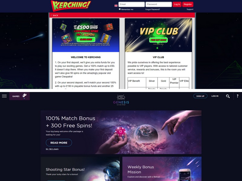 Kerching casino review genesis casino