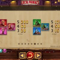 Lucha Maniacs slot game review