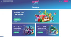 CasinoJoy online casino review