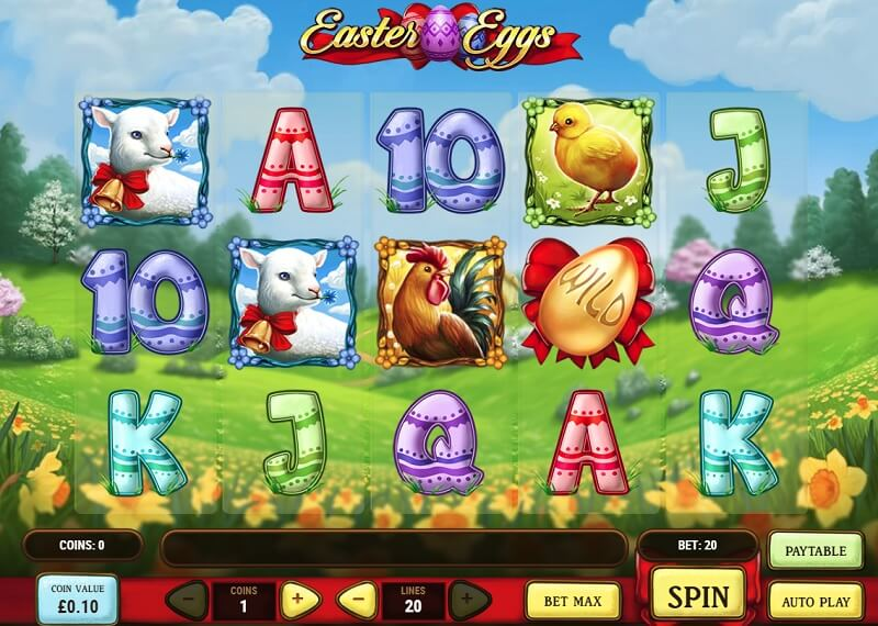 Easter Eggs slot game